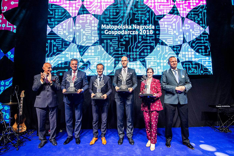 Laureaci Małopolskiej Nagrody Gospodarczej 2018