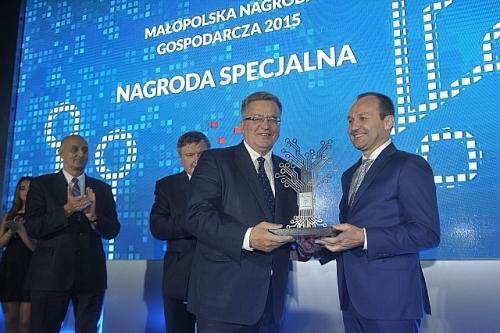 Wręczenie Nagrody Specjalnej dla Prezydenta Bronisława Komorowskiegoo